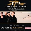 u2, the joshua tree tour 2017,...